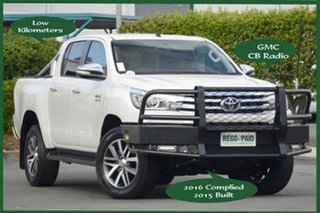 Discounted Used Toyota Hilux SR5 Double Cab, Acacia Ridge, 2015 Toyota Hilux SR5 Double Cab GUN126R Utility