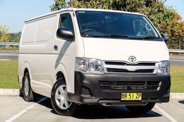 Used Toyota Hiace LWB, Moorooka, Brisbane, 2012 Toyota Hiace LWB Van