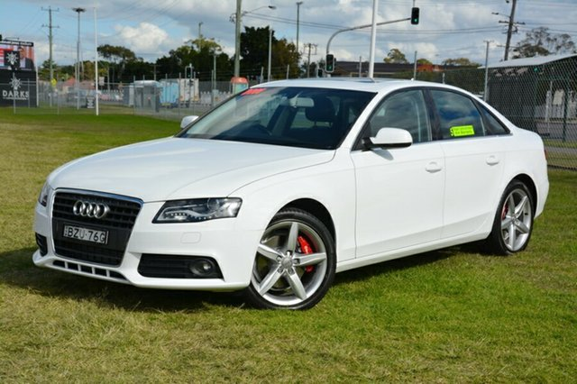 Used Audi A4 B8 8K MY11 Multitronic, 2011 Audi A4 B8 8K MY11 Multitronic White 8 Speed Constant Variable Sedan