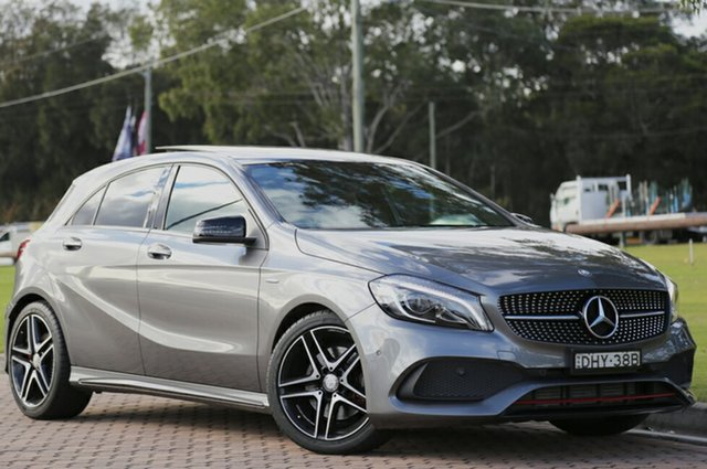 Discounted Used Mercedes-Benz A250 Sport D-CT 4MATIC, Warwick Farm, 2016 Mercedes-Benz A250 Sport D-CT 4MATIC Hatchback