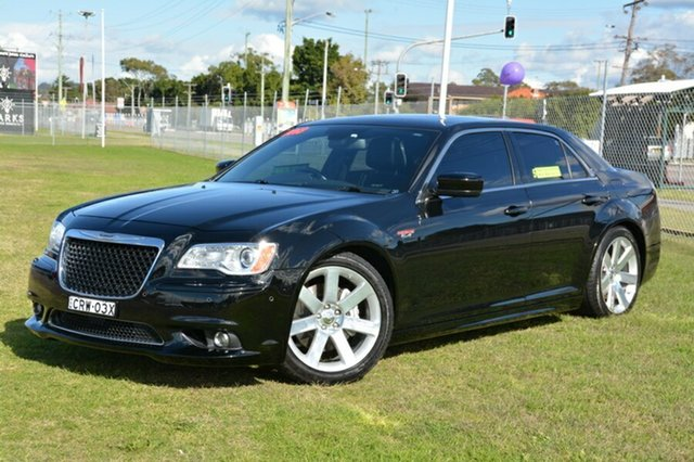 Used Chrysler 300 LX MY13 SRT-8, 2012 Chrysler 300 LX MY13 SRT-8 Black 5 Speed Sports Automatic Sedan