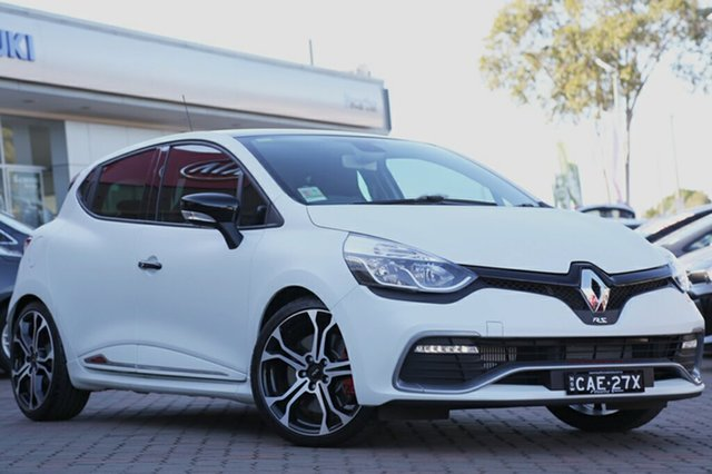 Discounted Demonstrator, Demo, Near New Renault Clio R.S. 220 EDC Trophy, Narellan, 2016 Renault Clio R.S. 220 EDC Trophy Hatchback