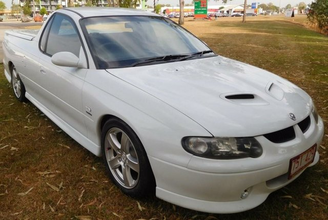 Used Holden Ute VU II SS, 2001 Holden Ute VU II SS White 4 Speed Automatic Utility