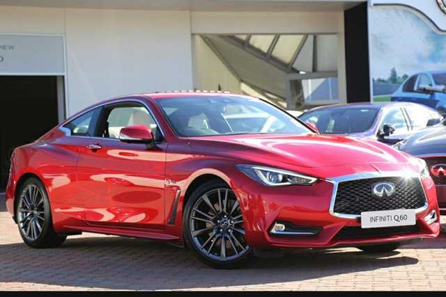 Discounted New Infiniti Q60 Red Sport, Southport, 2017 Infiniti Q60 Red Sport Coupe