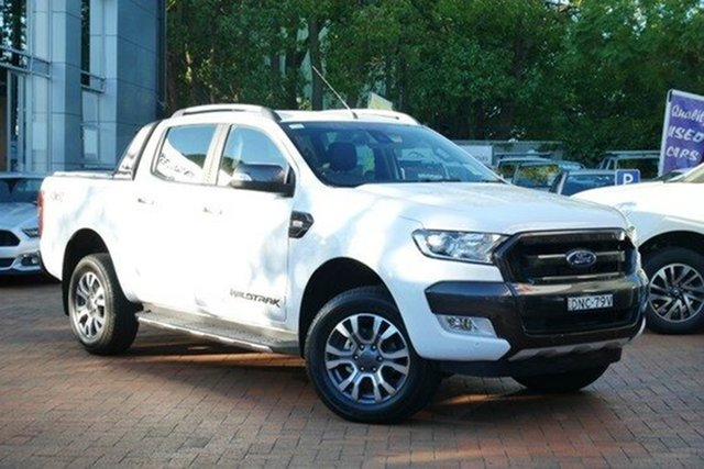 Demonstrator, Demo, Near New Ford Ranger Wildtrak Double Cab, Southport, 2017 Ford Ranger Wildtrak Double Cab Utility