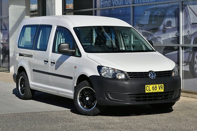 Used Volkswagen Caddy TDI250 Maxi DSG, Southport, 2011 Volkswagen Caddy TDI250 Maxi DSG Van