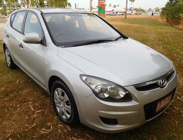 Used Hyundai i30 FD MY11 SX, 2011 Hyundai i30 FD MY11 SX Silver 5 Speed Manual Hatchback