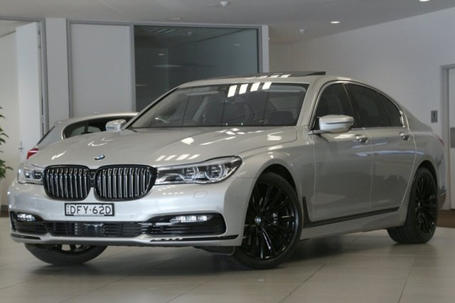 Used BMW 740i, Brookvale, 2016 BMW 740i Sedan