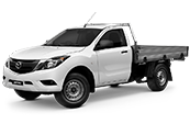 New Mazda BT-50 Single Cab, Parkland Mazda, Cannington