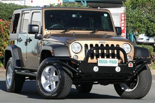Used Jeep Wrangler Unlimited Sport, Acacia Ridge, 2014 Jeep Wrangler Unlimited Sport JK MY2015 Softtop
