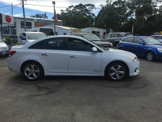 Used Holden Cruze  , 2011 Holden Cruze SRIV White 5 Speed Auto Active Select Sedan