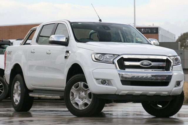 Demonstrator, Demo, Near New Ford Ranger XLT Double Cab, Hobart, 2017 Ford Ranger XLT Double Cab Utility