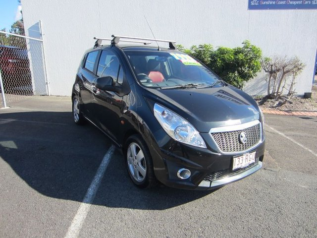 Used Holden Barina Spark CD, Alexandra Headland, 2010 Holden Barina Spark CD Hatchback