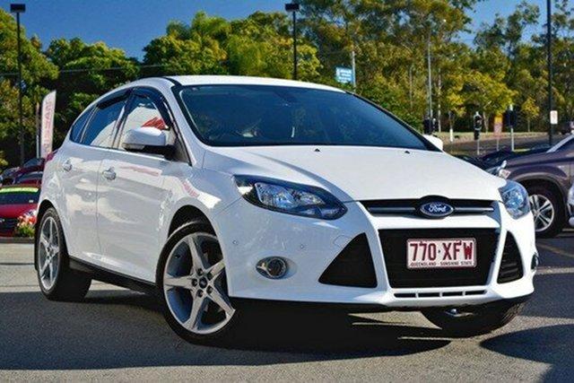 Used Ford Focus Titanium PwrShift, Moorooka, Brisbane, 2011 Ford Focus Titanium PwrShift Hatchback