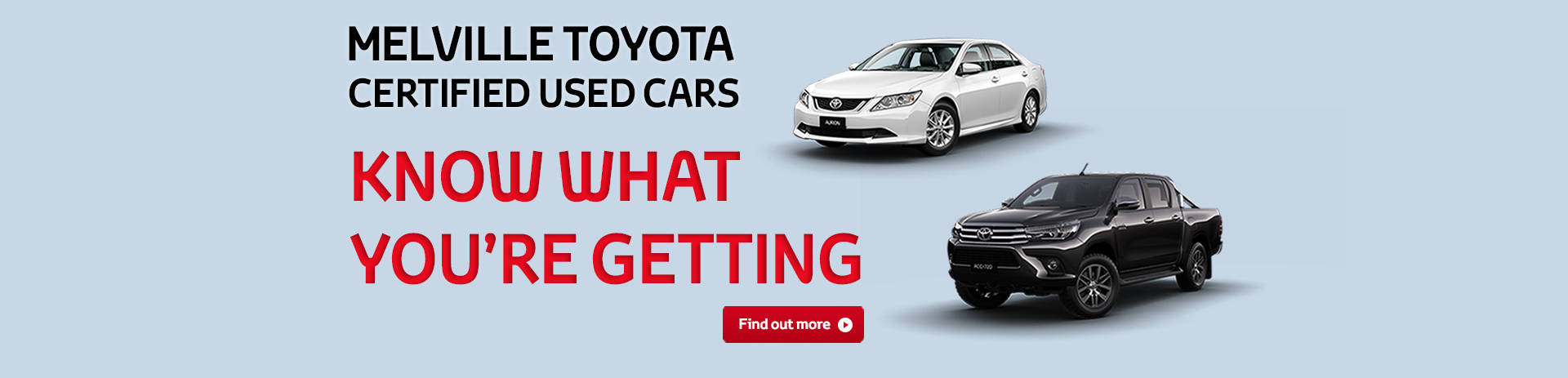 Melville Toyota Certified Used Cars