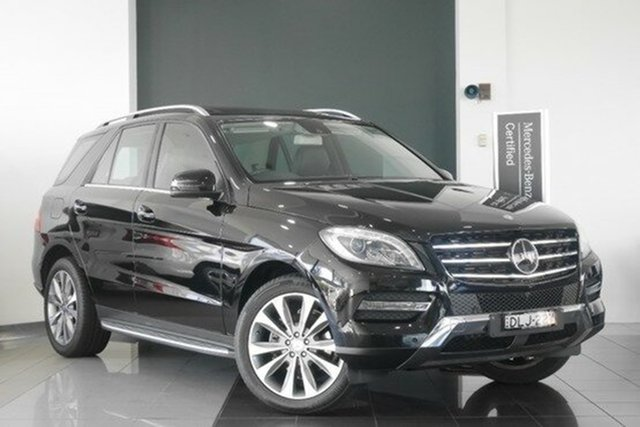 Demonstrator, Demo, Near New Mercedes-Benz ML350 BlueTEC 7G-Tronic +, Mosman, 2013 Mercedes-Benz ML350 BlueTEC 7G-Tronic + Wagon