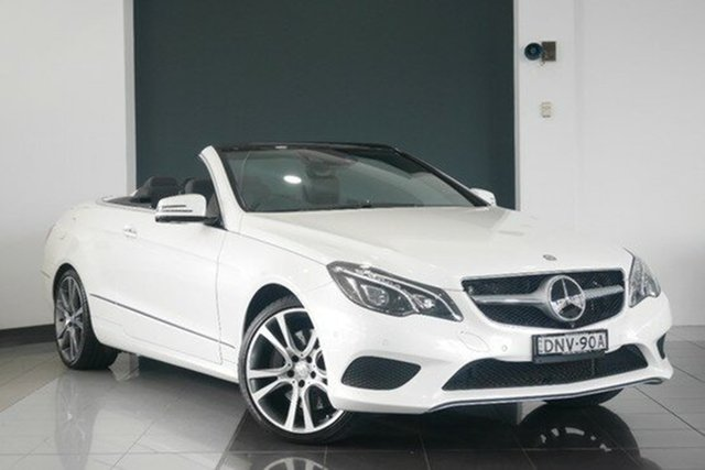 Demonstrator, Demo, Near New Mercedes-Benz E400 7G-Tronic +, Mosman, 2013 Mercedes-Benz E400 7G-Tronic + Cabriolet