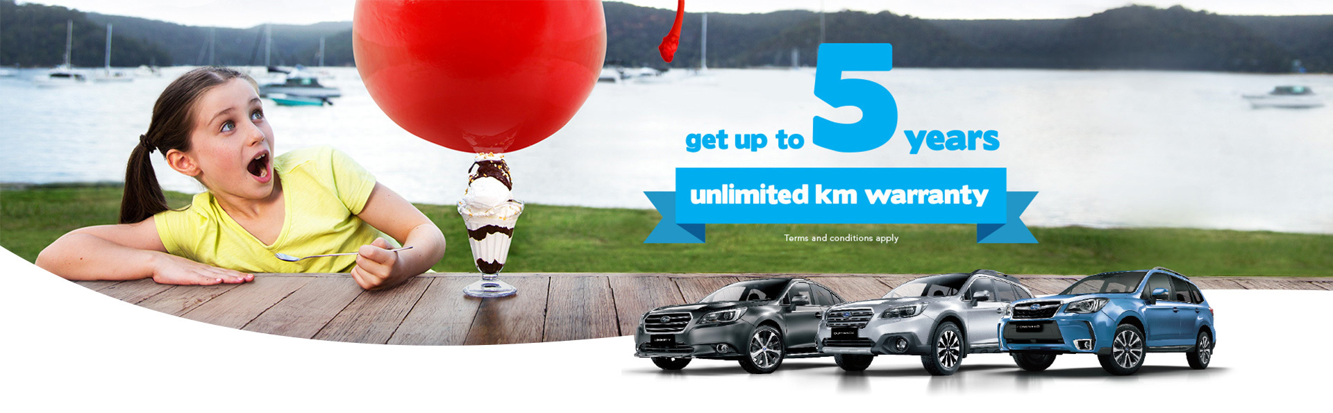 Subaru - National Offer - Up To 5 years unlimited km warranty