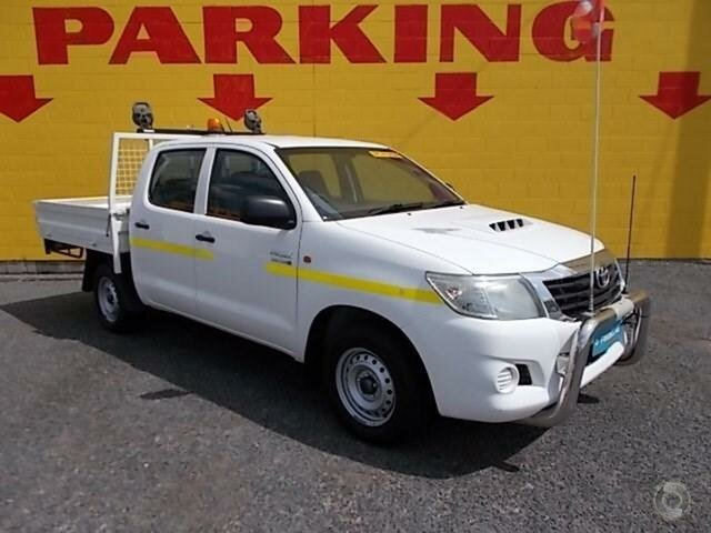 Used Toyota Hilux SR Double Cab, Winnellie, 2012 Toyota Hilux SR Double Cab Utility