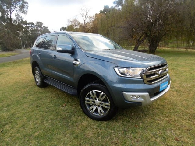 Discounted Demonstrator, Demo, Near New Ford Everest Trend 4WD, Cheltenham, 2017 Ford Everest Trend 4WD Wagon