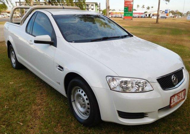 Used Holden Ute VE II MY12 Omega, 2011 Holden Ute VE II MY12 Omega White 6 Speed Sports Automatic Utility