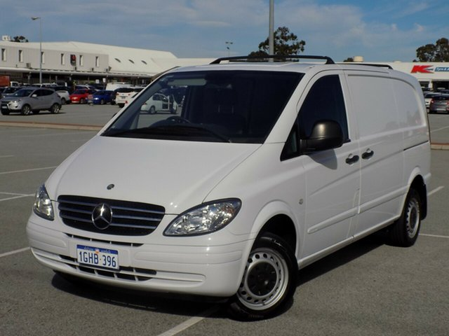 Used Mercedes-Benz Vito 109CDI Low Roof Comp, Maddington, 2005 Mercedes-Benz Vito 109CDI Low Roof Comp Van