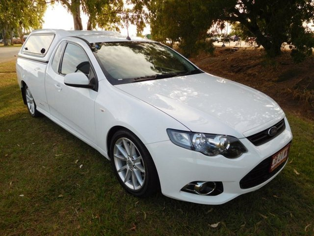 Used Ford Falcon FG MkII XR6 Ute Super Cab Turbo, 2013 Ford Falcon FG MkII XR6 Ute Super Cab Turbo White 6 Speed Sports Automatic Utility