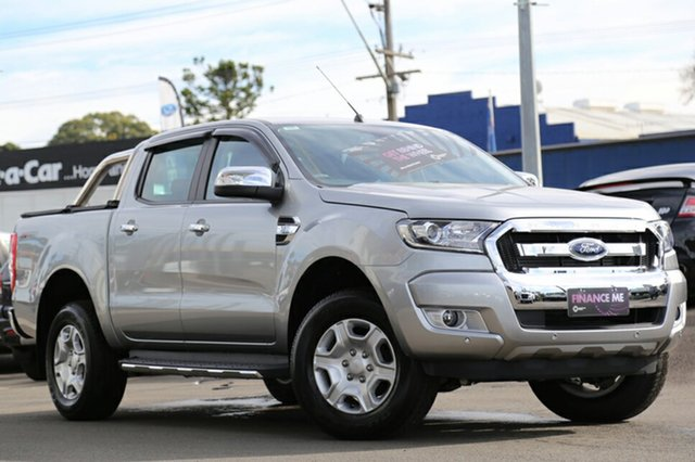 Discounted Demonstrator, Demo, Near New Ford Ranger XLT Double Cab 4x2 Hi-Rider, Southport, 2016 Ford Ranger XLT Double Cab 4x2 Hi-Rider Utility