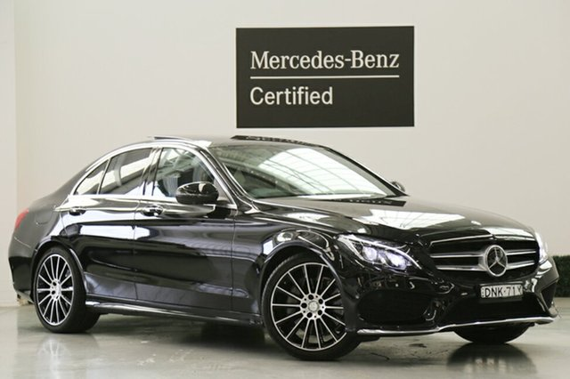 Demonstrator, Demo, Near New Mercedes-Benz C250 7G-Tronic +, Narellan, 2016 Mercedes-Benz C250 7G-Tronic + Sedan
