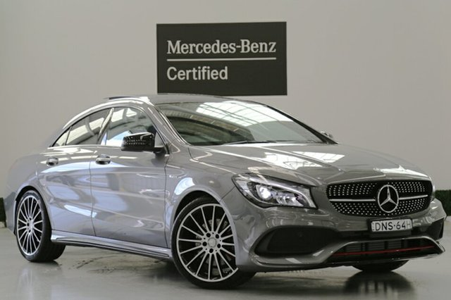Demonstrator, Demo, Near New Mercedes-Benz CLA250 Sport DCT 4MATIC, Narellan, 2016 Mercedes-Benz CLA250 Sport DCT 4MATIC Coupe