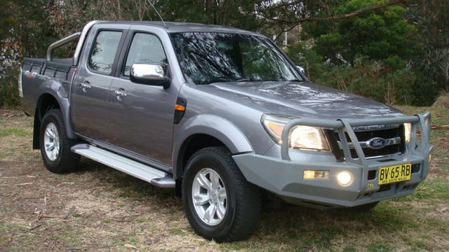 Used Ford Ranger XLT Crew Cab, Queanbeyan, 2011 Ford Ranger XLT Crew Cab Utility