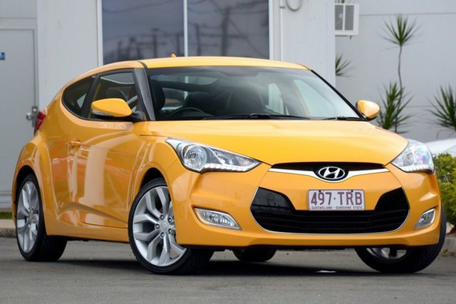 Used Hyundai Veloster Street Coupe D-CT, Bowen Hills, 2013 Hyundai Veloster Street Coupe D-CT Hatchback