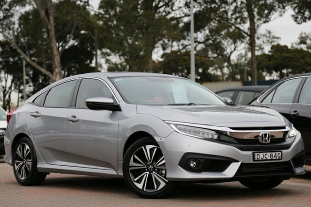 Used Honda Civic VTI-LX, Warwick Farm, 2016 Honda Civic VTI-LX Sedan