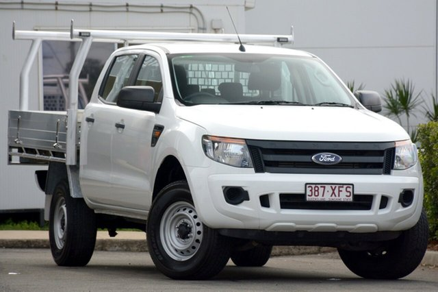 Used Ford Ranger XL Double Cab 4x2 Hi-Rider, Bowen Hills, 2013 Ford Ranger XL Double Cab 4x2 Hi-Rider Utility
