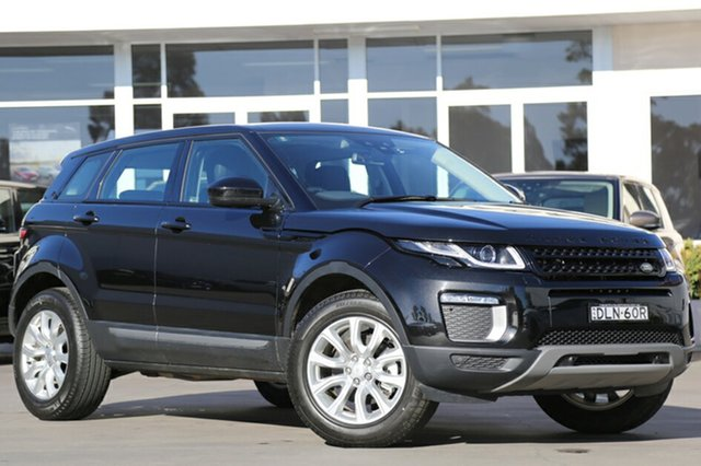 Demonstrator, Demo, Near New Land Rover Range Rover Evoque TD4 180 SE, Narellan, 2016 Land Rover Range Rover Evoque TD4 180 SE SUV