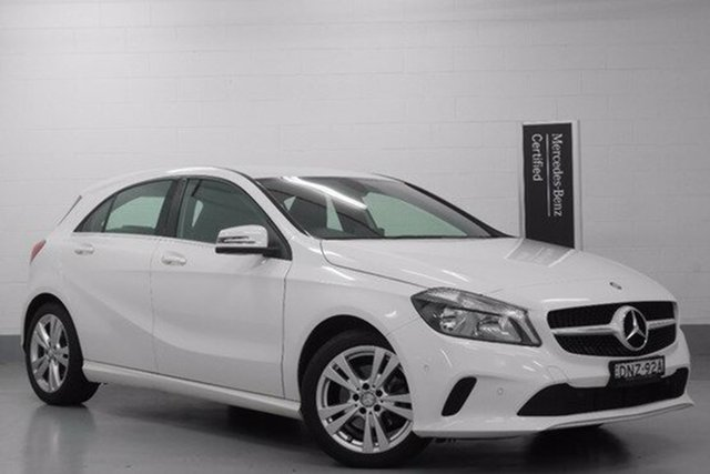 Demonstrator, Demo, Near New Mercedes-Benz A180 D-CT, Chatswood, 2015 Mercedes-Benz A180 D-CT Hatchback