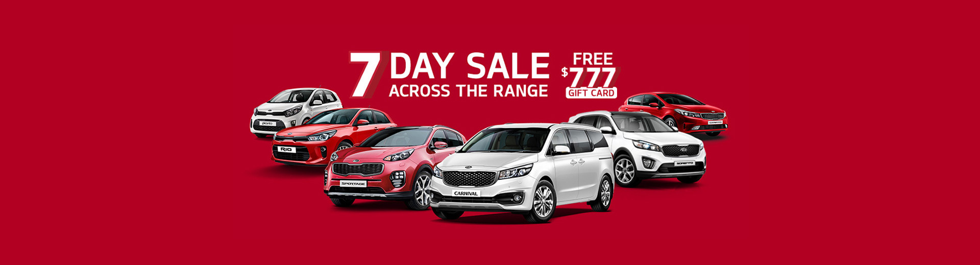 Kia's 7 Day Sale