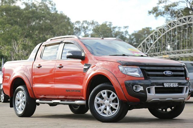 Used Ford Ranger Wildtrak Double Cab, Warwick Farm, 2014 Ford Ranger Wildtrak Double Cab Utility