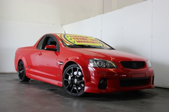Used Holden Commodore SS-V Redline Edition, Underwood, 2011 Holden Commodore SS-V Redline Edition Utility