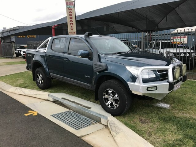Discounted Used Holden Colorado LT (4x4), Toowoomba, 2012 Holden Colorado LT (4x4) Crew Cab Pickup