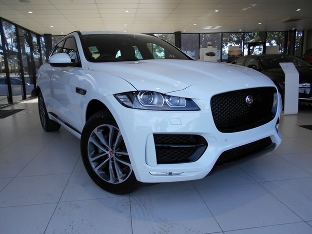 Demonstrator, Demo, Near New Jaguar F-PACE 20d AWD R-Sport, Toowoomba, 2017 Jaguar F-PACE 20d AWD R-Sport Wagon