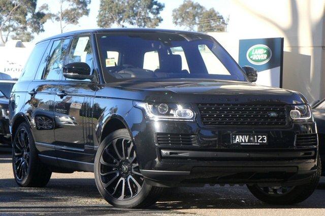 Demonstrator, Demo, Near New Land Rover Range Rover TDV6 Vogue, Port Melbourne, 2017 Land Rover Range Rover TDV6 Vogue Wagon