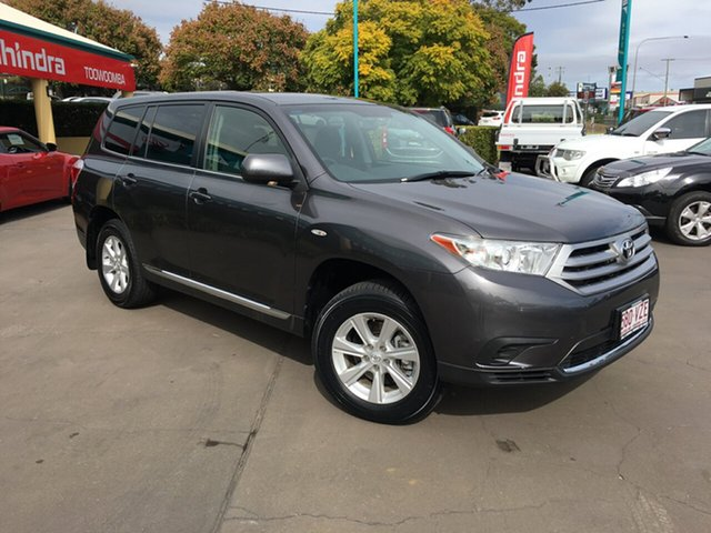 Used Toyota Kluger KX-R (FWD) 7 Seat, Toowoomba, 2013 Toyota Kluger KX-R (FWD) 7 Seat Wagon