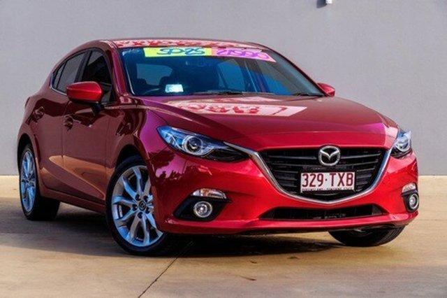 Used Mazda 3 SP25 SKYACTIV-Drive GT, Moorooka, Brisbane, 2014 Mazda 3 SP25 SKYACTIV-Drive GT Hatchback