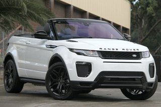 2017 Land Rover Evoque TD4 180 HSE Dynamic Convertible.