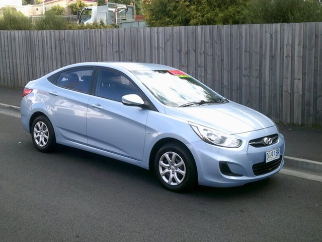 Used Hyundai Accent Active, North Hobart, 2013 Hyundai Accent Active Sedan