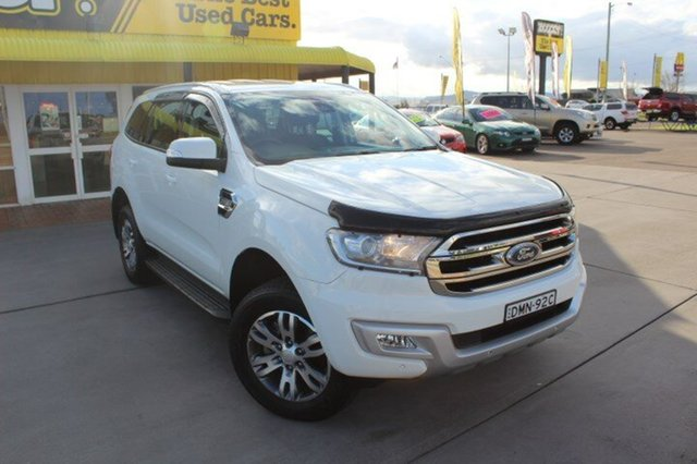 Used Ford Everest Trend 4WD, Hamilton, 2016 Ford Everest Trend 4WD Wagon