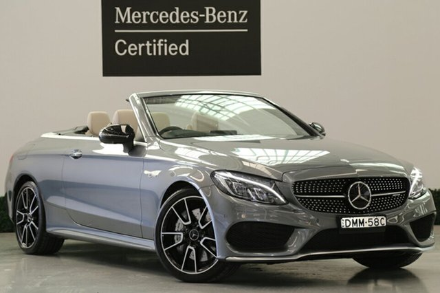 Used Mercedes-Benz C43 AMG 9G-TRONIC 4MATIC, Narellan, 2016 Mercedes-Benz C43 AMG 9G-TRONIC 4MATIC Cabriolet