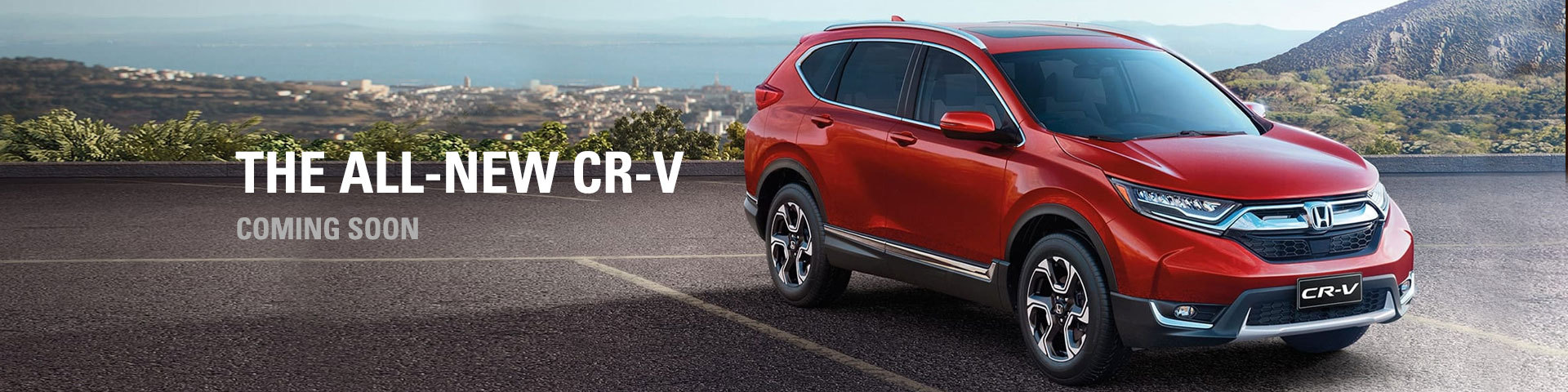 All New Honda CR-v