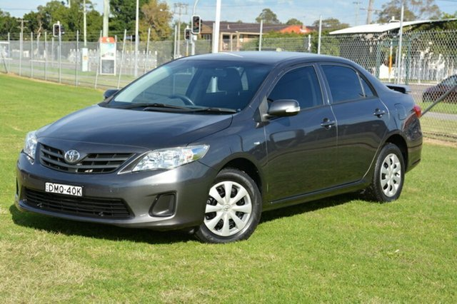 Used Toyota Corolla ZRE152R MY11 Ascent, 2011 Toyota Corolla ZRE152R MY11 Ascent Grey 6 Speed Manual Sedan
